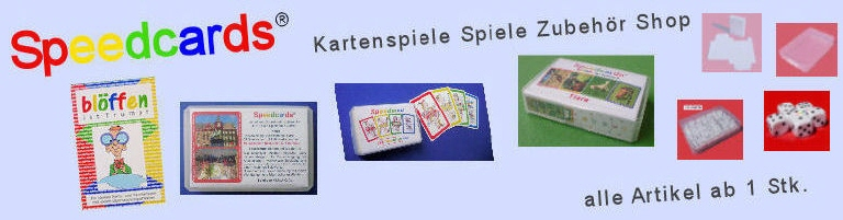 SC Speedcards Kartenspiele Shop