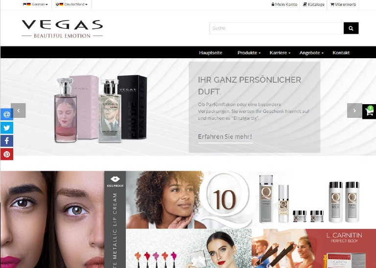 Vegas Cosmetics Erfahrung